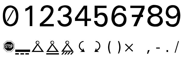 Martin Vogel's Symbols Font OTHER CHARS