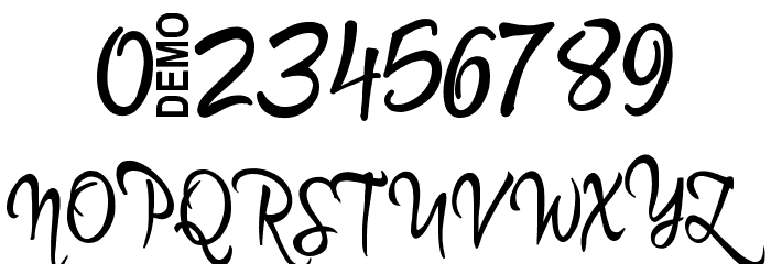 Martyn Demo Font OTHER CHARS