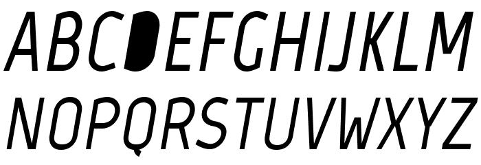 Marvel-BoldItalic Font UPPERCASE