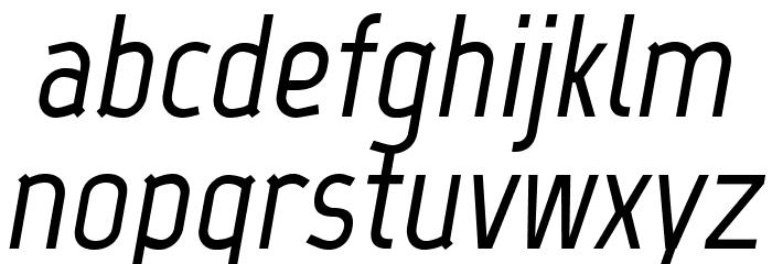 Marvel-BoldItalic Font LOWERCASE