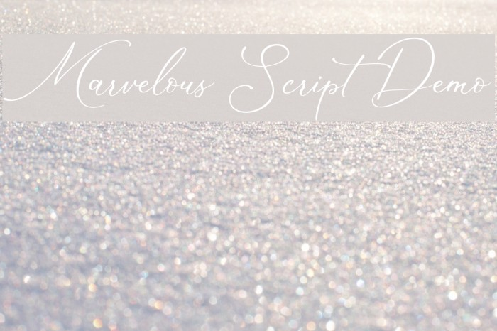 Marvelous Script Demo Polices examples