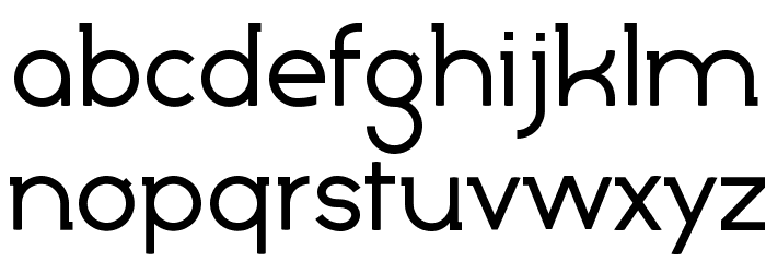 Marylin Font LOWERCASE