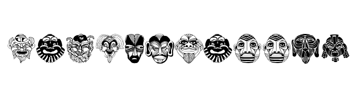 Maskenball04  Free Fonts Download