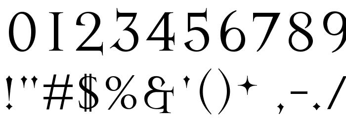 Mason Regular Font OTHER CHARS