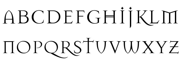 Mason Regular Font UPPERCASE