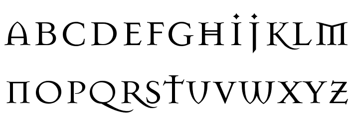 Mason Regular Font LOWERCASE