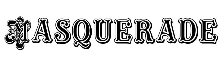 Masquerade  Скачать бесплатные шрифты