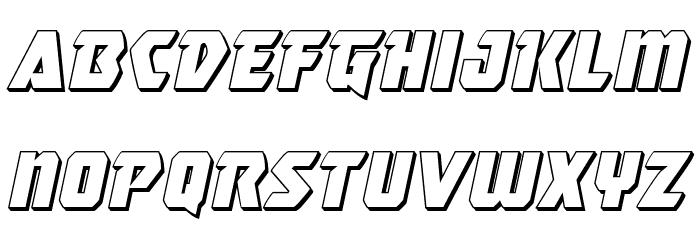 Master Breaker 3D Italic Шрифта строчной