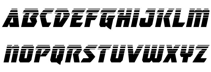 Master Breaker Halftone Italic Font LOWERCASE