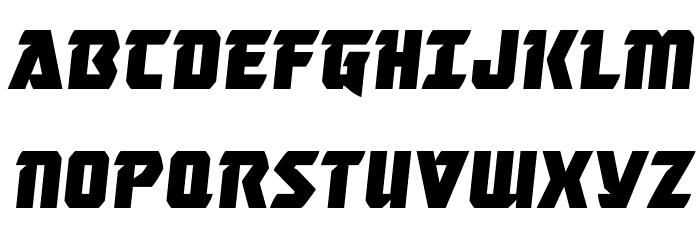Master Breaker Semi-Italic Шрифта ВЕРХНИЙ