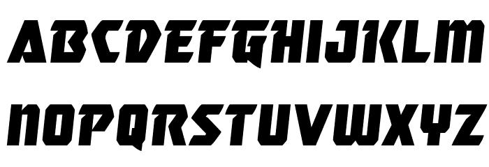 Master Breaker Semi-Italic Шрифта строчной