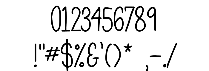 Mathlete-Bulky Font Alte caractere