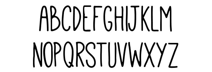 Mathlete-Bulky Font Litere mici