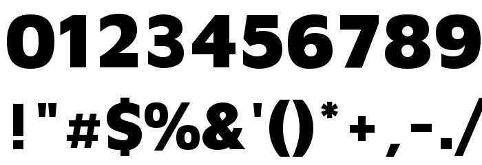 Maven Pro Black Font OTHER CHARS