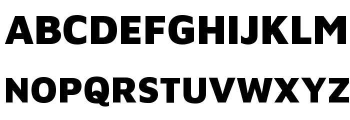 Maven Pro Black Font UPPERCASE