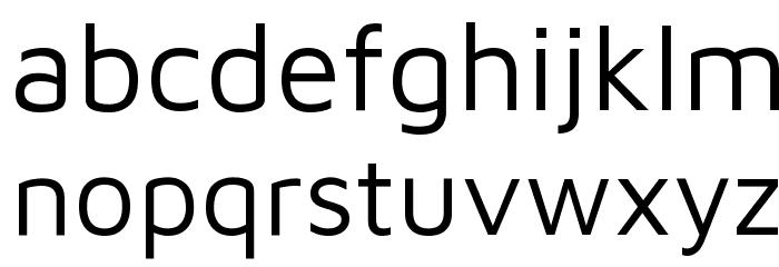 Maven Pro Regular Font LOWERCASE