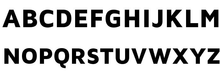 MavenProBlack Font UPPERCASE