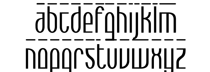Max  Bold Font UPPERCASE
