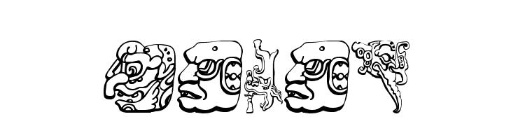 Mayan  Free Fonts Download