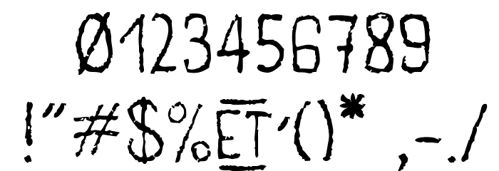 main lev�e regular1 Font OTHER CHARS