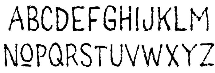 main lev�e regular1 Font UPPERCASE