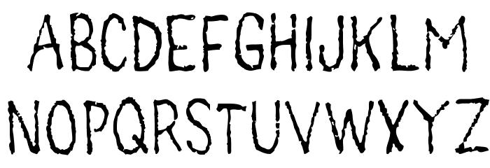 main lev�e regular1 Font LOWERCASE
