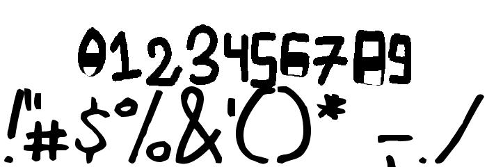 mannaaksara Font OTHER CHARS