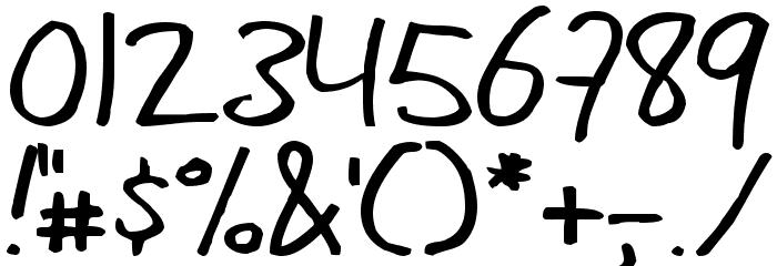mannaelegy Шрифта ДРУГИЕ символов