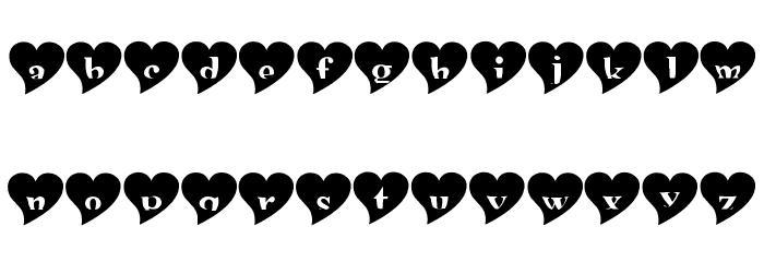 mashy Valentine Font LOWERCASE