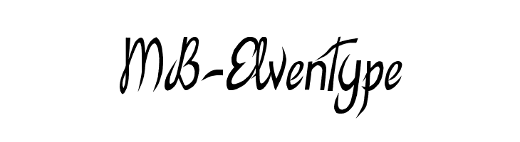 MB-ElvenType  font caratteri gratis