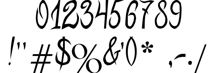 MB-ElvenType Шрифта ДРУГИЕ символов