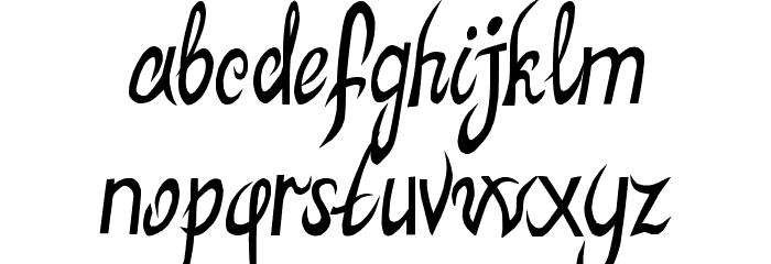 MB-ElvenType Шрифта строчной