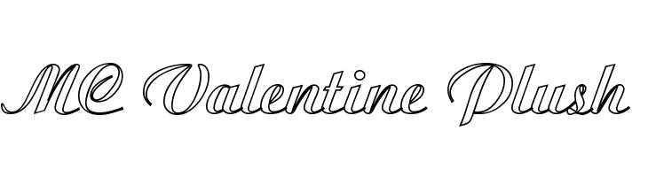 MC Valentine Plush  Fuentes Gratis Descargar