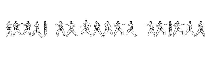 McCoy Dingbat Karate  नि: शुल्क फ़ॉन्ट्स डाउनलोड