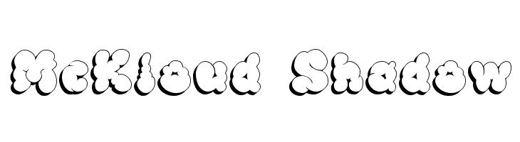 McKloud Shadow  baixar fontes gratis