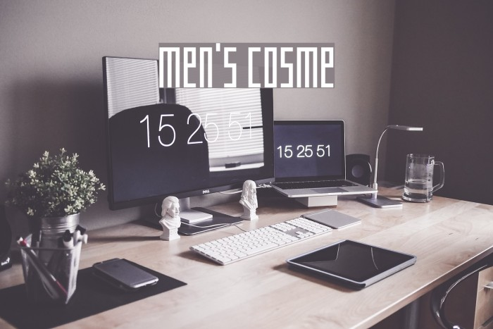 MEN'S COSME لخطوط تنزيل examples