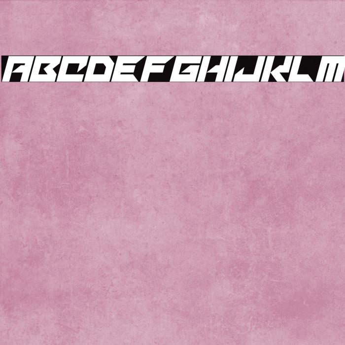 Mechacubes Italic Fonte examples