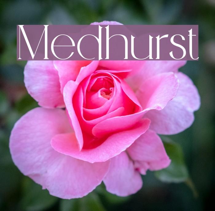 Medhurst Fonte examples
