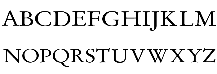 MediaevalItalique Шрифта ВЕРХНИЙ
