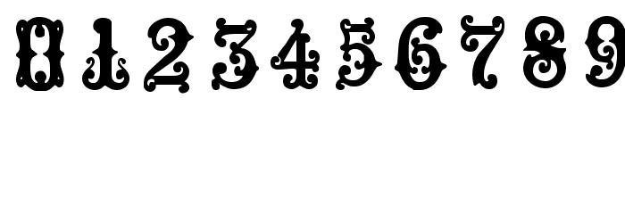 Medieval Sorcerer Ornamental Font OTHER CHARS