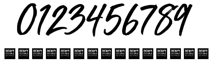Mega Fresh Шрифта ДРУГИЕ символов