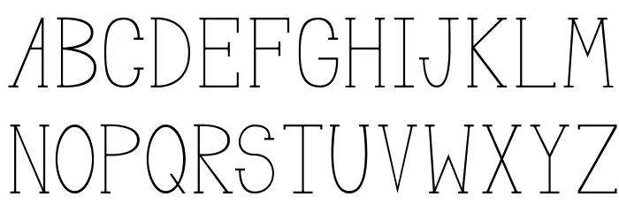 MeganSerif لخطوط تنزيل الأحرف الكبيرة