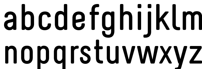 Melbourne-Bold Font LOWERCASE
