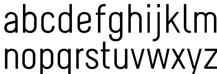 Melbourne Font LOWERCASE