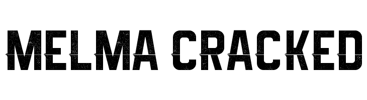 Melma Cracked  Descarca Fonturi Gratis