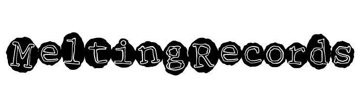 MeltingRecords  नि: शुल्क फ़ॉन्ट्स डाउनलोड