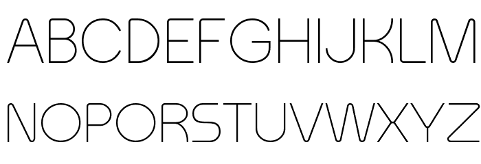 Meltix Light Demo Font UPPERCASE