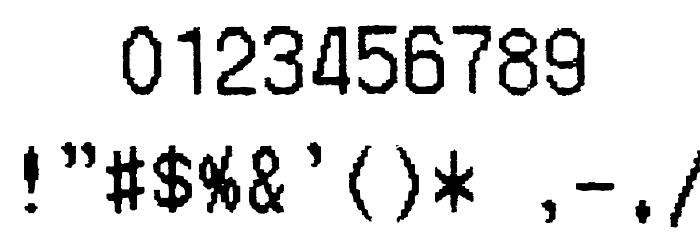 Merchant Copy Font OTHER CHARS