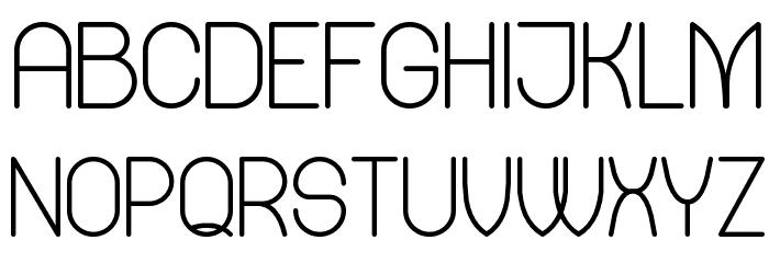 Mercy Regular Font UPPERCASE