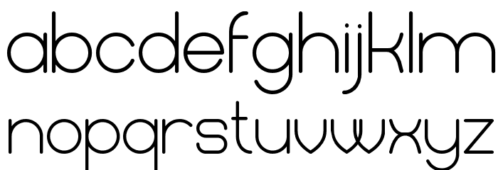 Mercy Regular Font LOWERCASE